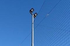 Realizzato un impianto di illuminazione per i campi sportivi della parrocchia San Riccardo