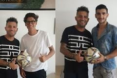 Due ex Allievi della Nuova Andria Calcio in Promozione con il Canosa