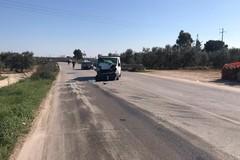 Ennesimo incidente stradale sulla strada tangenziale: ferito il conducente di un furgone