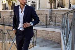 Il modello e attore andriese Conte, ospite al Summer Bridal Style