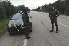 Finanzieri recuperano furgone con 50mila euro di refurtiva sulla sp Andria Bisceglie