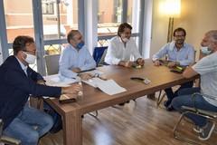 I coordinatori regionali di Lega, Forza Italia e Fratelli d'Italia incontrano Raffaele Fitto