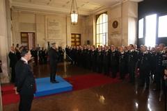 Consegna a carabiniere di Andria medaglia Mauriziana