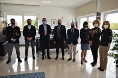 Il Procuratore Nitti ad Andria visita la nuova Questura