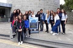 """Studenti del Liceo statale """"Carlo Troya"""" di Andria a Dublino per un progetto PON di alternanza scuola-lavoro"""
