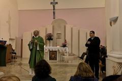 Celebrazione eucaristica nella lingua dei segni presso la parrocchia Madonna di Pompei