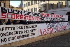 Cambiano i criteri per concorso in Polizia: manifestazione parlamentari di Forza Italia