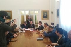 Sottoscrizioneprotocollod'intesa tra Comuni di Andria e Barletta, le OO. SS. e FerrotramviariaSpA