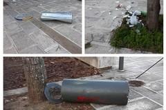 Villa comunale, Michele Coratella (M5S): «Necessaria sorveglianza contro inciviltà»