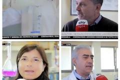 """Il gel igienizzante degli studenti del """"Lotti-Umberto I"""" finisce sul tg di Sky"""