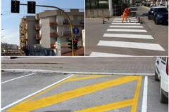 Nuovi interventi in città: rifacimento segnaletica posteggi e ripristino semaforo Castel del Monte