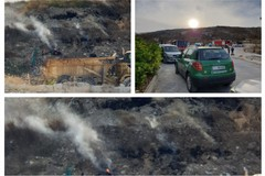 Incendio all'interno della discarica di San Nicola La Guardia