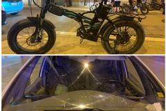 Due minori leggermente feriti dopo incidente contro autovettura: erano a bordo di una bici elettrica