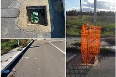Furto di chiusini stradali al quartiere San Valentino: intervento di Polizia Locale e AndriaMultiservice