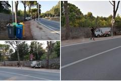 Interventi di pulizia straordinaria zona Castel del Monte e contrade rurali effettuati dalla Sangalli
