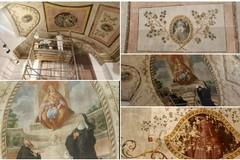 Sala capitolare Basilica Santa Maria dei Miracoli: avviato il restauro della volta dipinta