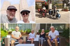 Ciclisti francesi percorrono migliaia di km attratti dalla grande bellezza del Borgo di Montegrosso