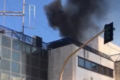 Incendio in via Barletta ad Andria, intervengono i Vigili del fuoco