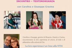 Giastin, Rosaria e Cosimo, tre sorrisi speciali di Dio: ad Andria la testimonianza dei genitori