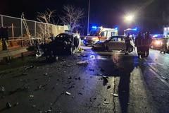 Grave incidente stradale al primo svincolo dell'ex sp 231: due feriti in codice rosso