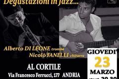 """Stasera """"Degustazioni in jazz"""""""