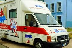 Giornata Mondiale del Donatore di Sangue: l'AVIS allestisce un'autoemoteca in Piazza Umberto I