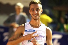Francesco Fortunato campione italiano sui 5000 m di marcia ad Ancona