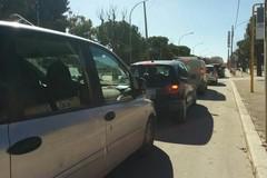 Via Bisceglie interdetta, caos nel traffico cittadino