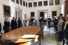 Auguri pasquali dell' Ordine del S. Sepolcro a Mons. Mansi