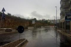 Via Bisceglie nuovamente allagata dalle prime piogge