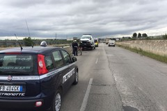Nuovo incidente stradale sulla sp 231, furgone fuori strada