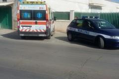 Motociclista 31 enne in codice rosso dopo incidente in viale Puglia