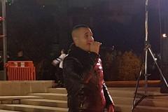 Nicola Civita, giovane cantante andriese dalla possente voce