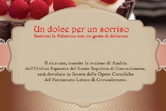 """""""Un dolce per un sorriso"""" per sostenere la Palestina con un gesto di...dolcezza"""