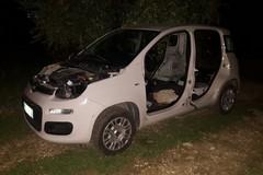 Ancora auto rubate recuperate nelle campagne andriesi