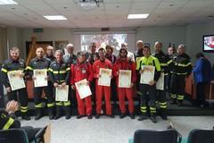 Speranza di vita sul binario della morte. Riconoscimento per i pompieri a lavoro sul luogo del disastro