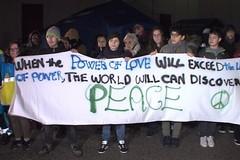 La Diocesi in marcia per la pace. Fedeli anche da Andria