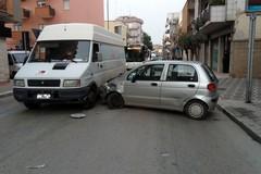 Incidente su viale Venezia Giulia: coinvolto mezzo dell'Andriamultiservice