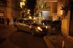Violento impatto tra due vetture ieri sera tra via Giusti e via Vittoria