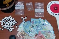 """Sequestrate oltre 70 dosi di cocaina, fermata dai carabinieri la coppia andriese del """"pit-stop"""""""