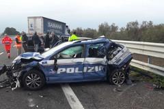 """Incidente sull'A/14: due agenti della Polstrada ricoverati al """"L. Bonomo"""""""