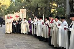 A S. Giovanni Rotondo Cavalieri e Dame dell'Ordine Equestre del S. Sepolcro di Gerusalemme