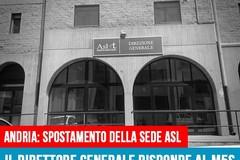 """Di Bari (M5S): """"Le assicurazioni di Delle Donne su Direzione generale e ospedale di Andria"""""""