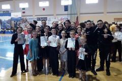 Ben 7 medaglie per l'Accademia dei Talenti di Andria ai campionati regionali di danza sportiva