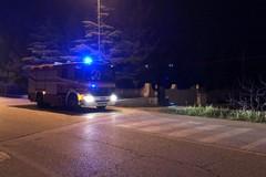 A fuoco alcuni mezzi di una impresa edile: indagano i carabinieri