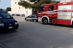 Principio d'incendio in via XX Settembre, intervengono Polizia Municipale e Vigili del Fuoco