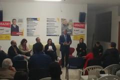 I parlamentari D'Ambrosio, Quarto e Piarulli ad Andria per un incontro politico