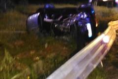 Grave incidente sulla Andria-Trani, auto si ribalta: 4 feriti