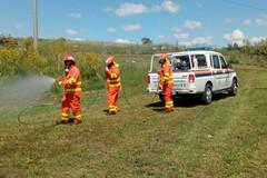 Incessante addestramento del Nucleo Volontariato Città di Andria