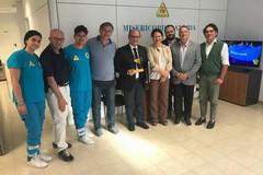 Ambulatorio solidale della Misericordia: visita della consigliera M5S Di Bari e del Dg Asl/Bt Delle Donne